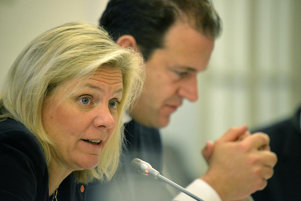 Magdalena Andersson attended Progressive Governance in 2015.